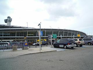 The airport of a name of John Kennedy in new York
