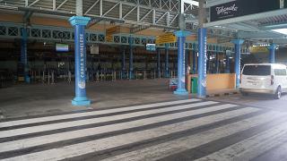 Вход в пассажирский терминал Международного аэропорта Сейшельских островов