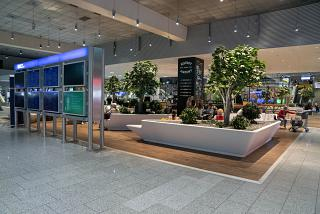 Green Zone at Terminal 1 of Frankfurt Airport