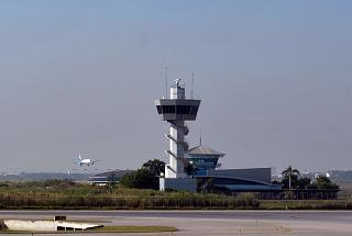 Tower ATC at the airport of Bangkok, Suvarnabhumi