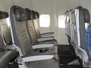 Кресла эконом-класса авиакомпании Icelandair