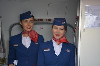 "Flight attendants of airline ""Russia"""
