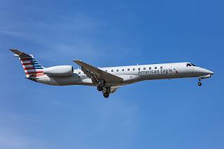 Embraer ERJ-145LR American Eagle авиакомпании Trans States Airlines