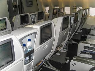 Premium economy class in the Boeing 777-200, Air France