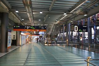 In the arrivals area of terminal 2 at Cologne/Bonn airport