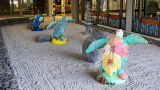 Turtles at the Hilo airport