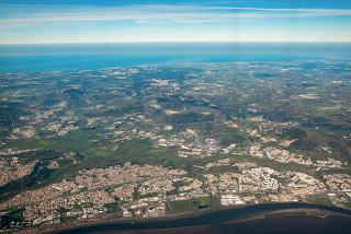 Tagus Estuary Estuary and Alberca do Ribatejo Town