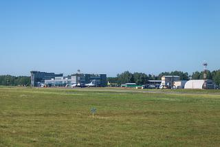 The apron of the Tomsk airport
