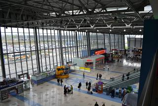 In the passenger terminal of Vladivostok airport Knevichi