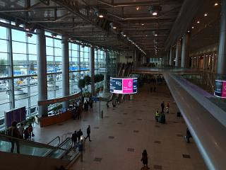 Central hall at Domodedovo airport