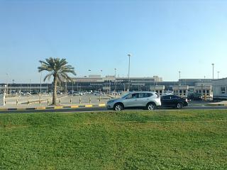 Пассажирский терминал и привокзальная площадь аэропорта Бахрейн