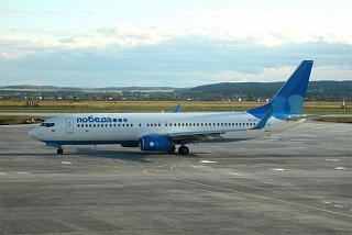 "Boeing-737-800 VQ-BTH airline ""Victory"" at the airport of Ekaterinburg"