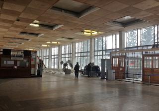 В аэровокзале аэропорта Вологда