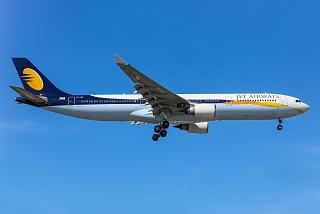 The Airbus A330-300 VT-JWT Jet Airways
