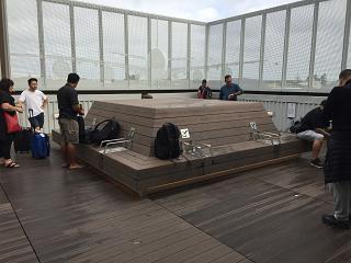 Курительная комната в новозеландском аэропорту Окленд