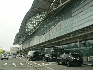 International airport terminal San Francisco