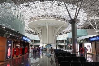 """Drop"" in terminal A of airport Moscow Vnukovo"