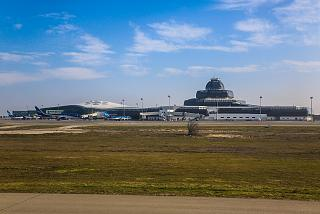 Passenger terminals of the airport of Baku named after Heydar Aliyev