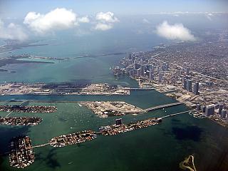 City view of Miami