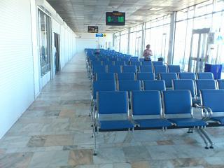 Зал ожидания в чистой зоне аэропорта Улан-Удэ