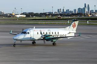 Aircraft Beechcraft 1900D C-GVGA, Air Georgian Toronto airport Pearson