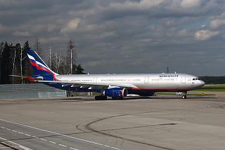The Airbus A330-300 Aeroflot