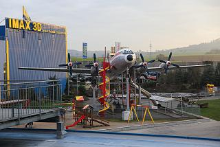 Il-18 in the Museum of technology in Sinsheim