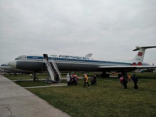 The Il-62 aircraft at the State aviation Museum of Ukraine