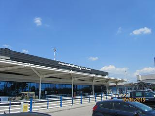 The passenger terminal of the airport of Verona Valerio Catullo