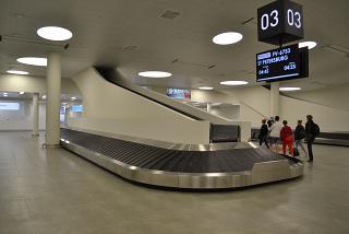 Зал выдачи багажа в аэропорту Самара Курумоч
