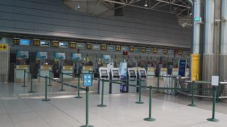 Reception in terminal 1, Lisbon Portela airport