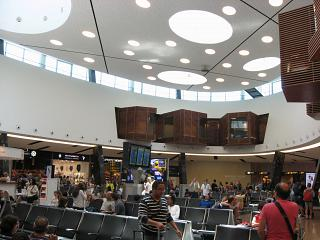The Central part of terminal 1, Lisbon Portela airport