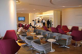 Бизнес-зал авиакомпании Korean Air в терминале 1 аэропорта Токио Нарита