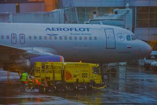 Airbus A320 VP-BWM Aeroflot in Sheremetyevo airport