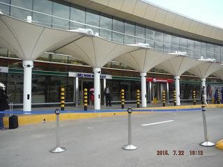 Terminal 1 of the airport Nairobi Jomo Kenyatta