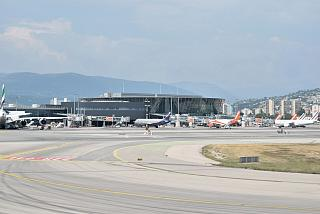 The terminal T2 of the Nice Cote d'Azur Airport