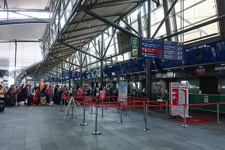 Leipzig Halle Airport Check-In Area