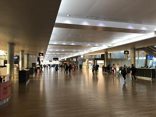 General view of zone D Oslo airport, Gardermoen