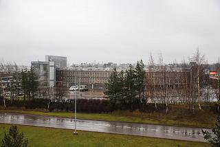 Автомобильная паркова в аэропорту Хельсинки Вантаа