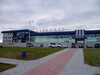 Аэровокзал аэропорта Игнатьево в Благовещенске
