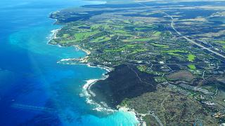 Coast of the Big island of Hawaii