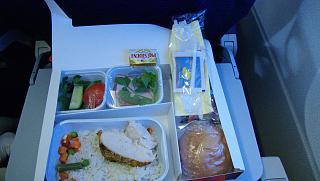 Food on the flight Donetsk-Antalya of aviakompanii WindRose