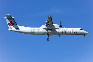 Bombardier Dash 8 Q400 C-GGOK авиакомпании Jazz Aviation