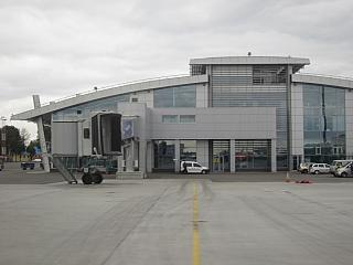 The terminal A of Kiev Zhuliany airport