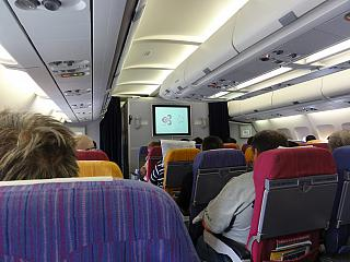 The cabin Airbus A330-300 Thai Airways