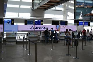Стойки регистрации в аэропорту Венеция Марко Поло