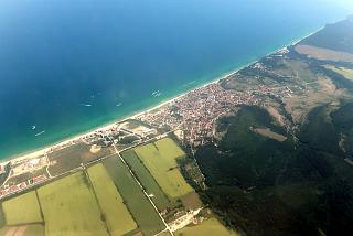 The town of Obzor on the black sea coast of Bulgaria