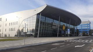 The new domestic terminal of the airport of Khabarovsk