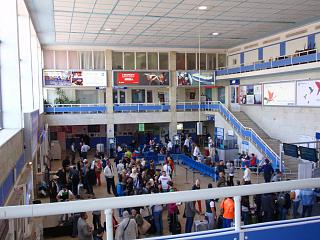 В аэровокзале аэропорта Одесса
