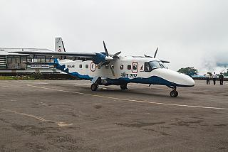 Dornier 228 airline Sita Air at Lukla airport